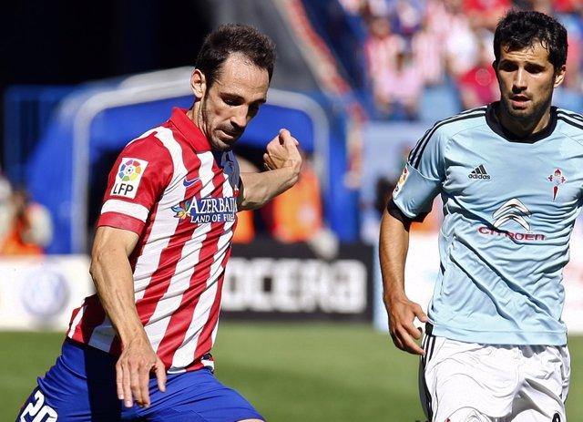 Juanfran Atlético Álex López Celta