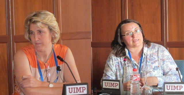 Representantes de OCU y ANTANA en la UIMP