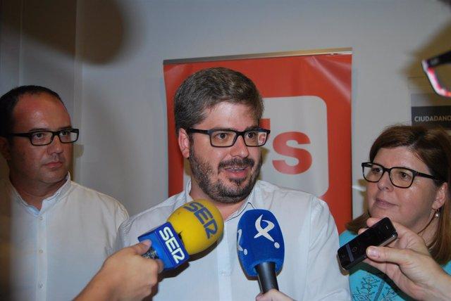 Nota De Prensa. Visita Del Secretario De Organización De C's, Fran Hervías