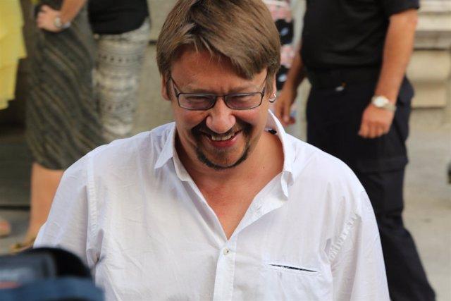 Xavier Domènech en el Congreso de los Diputados