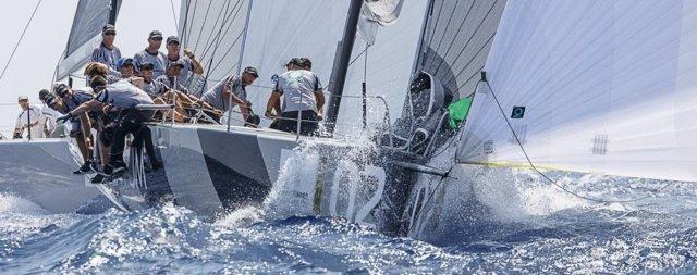 El Quantum Racing en la Puerto Portals Sailing Week