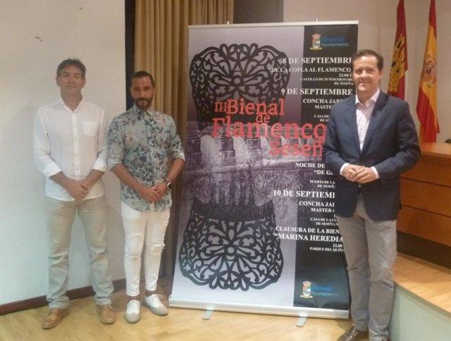Presentación de la III Bienal de Flamenco de Seseña (Toledo)