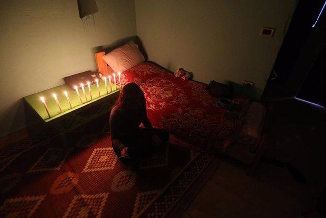 Una mujer siria, víctima de la explotación sexual en Líbano.