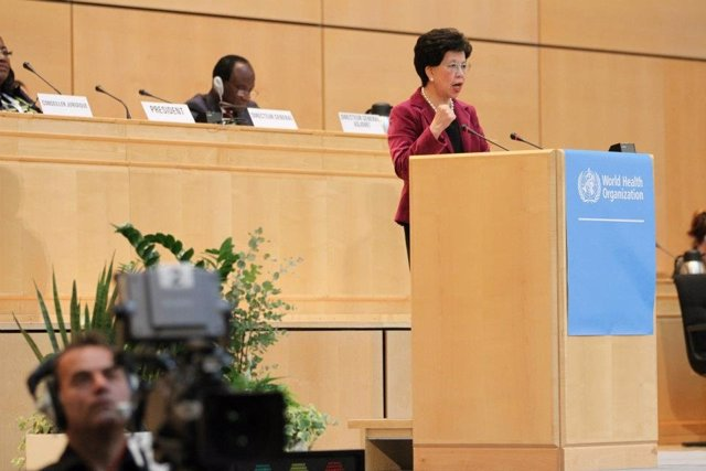 Director-General Dr Margaret Chan OMS