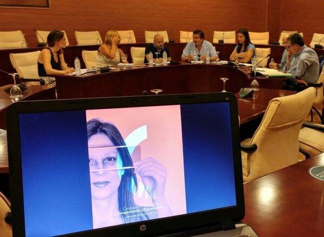 Reunión del comité del I Congreso 'Una mirada hacia la evidencia'