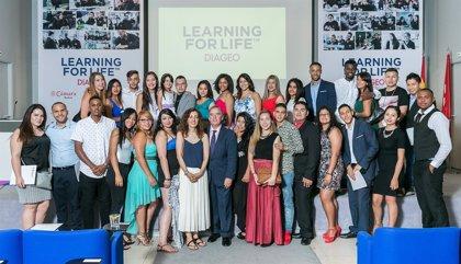 Diageo celebra la graduación de 43 jóvenes de la primera promoción de 'Learning for Life' en España