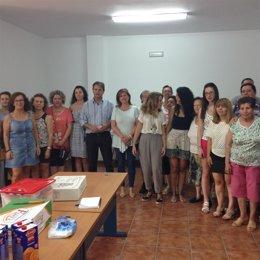 Clausura de taller de envejecimiento activo en Villanueva de la Reina (Jaén)
