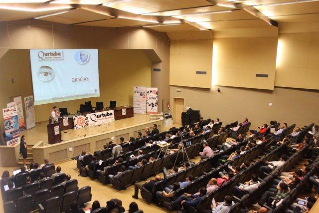 Una de las sesiones de la primera edición del Qurtuba Security Congress