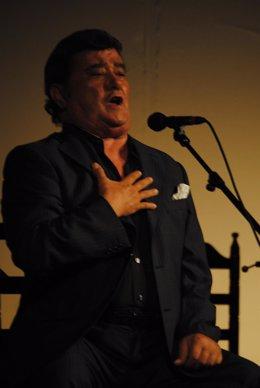 El cantaor flamenco José Menese