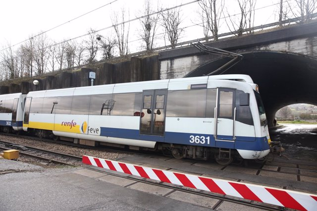Tren Feve en Fonciello, Siero