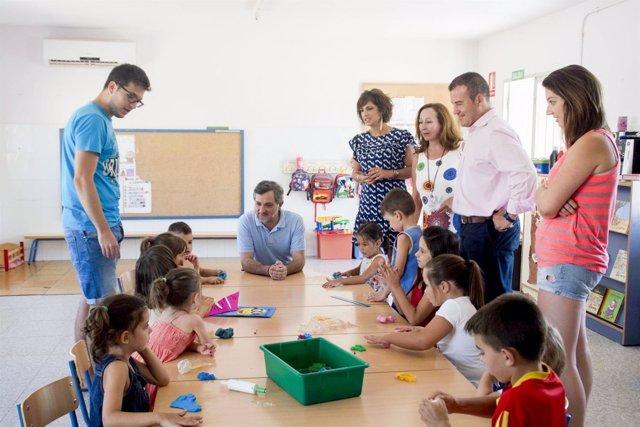 Visita a Escuela de Verano de Carboneras (Almería)