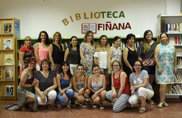 Formación de mujeres en Fiñana (Almería)