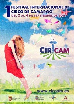 Cartel del Festival de Circo