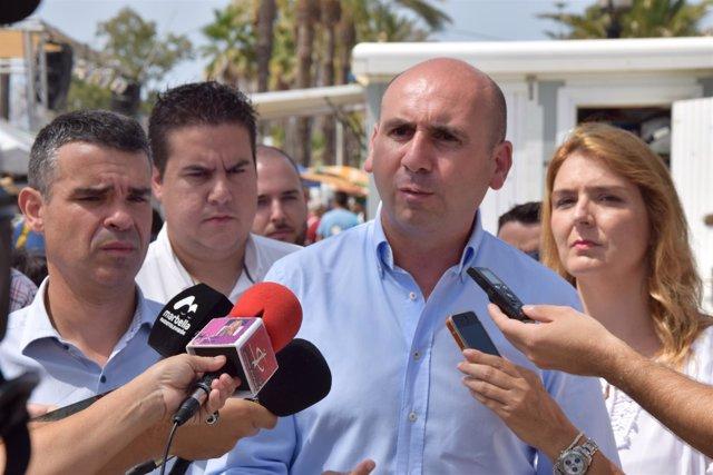 Francisco Conejo, del PSOE-A, en Marbella
