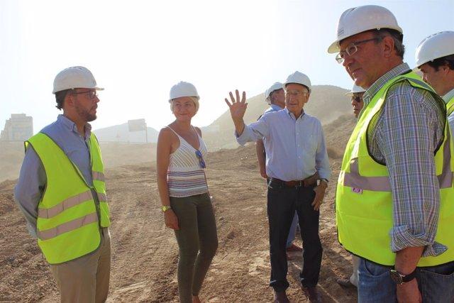 Obras en el semienlace de la A-7 con Aguadulce (Almería)