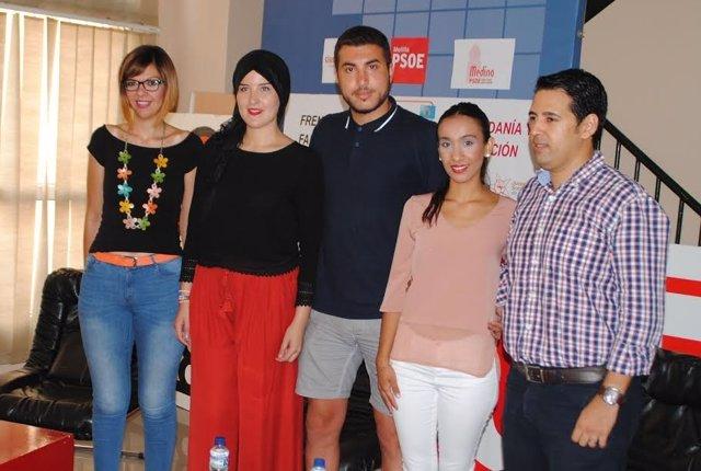 Coloquio organizado por Juventudes Socialistas de Melilla
