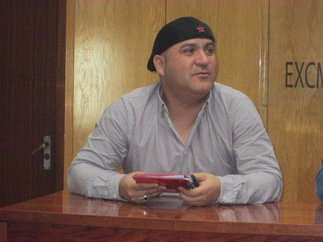 Andrés Bódalo en imagen de archivo