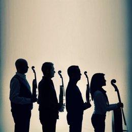 El cuarteto Quiroga, agrupación de cuerda