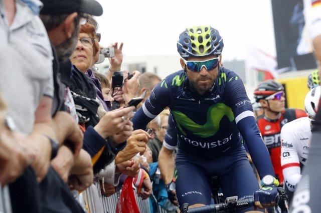 El ciclista español Alejandro Valverde
