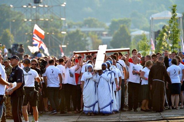 El Papa en el Vía Crucis