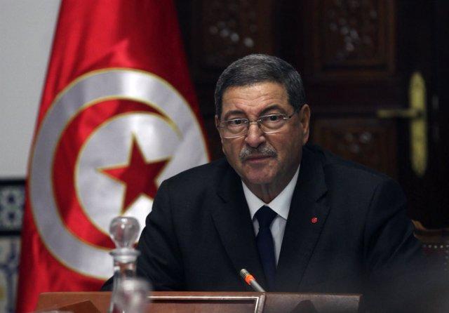El primer ministro de Túnez, Habib Essid