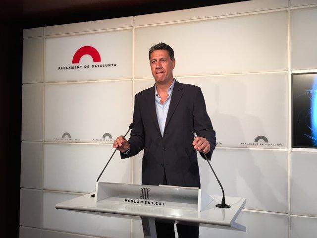 El líder del PP en Catalunya, Xavier García Albiol