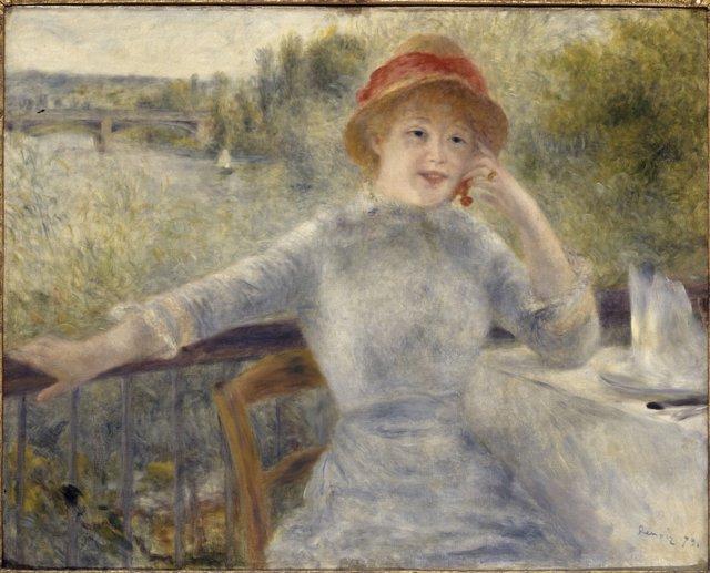 Obra 'Alphonsine Fournaise', de Pierre-Auguste Renoir (1879)