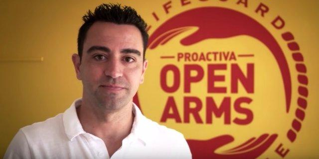 Xavi Hernández Proactiva Open Arms