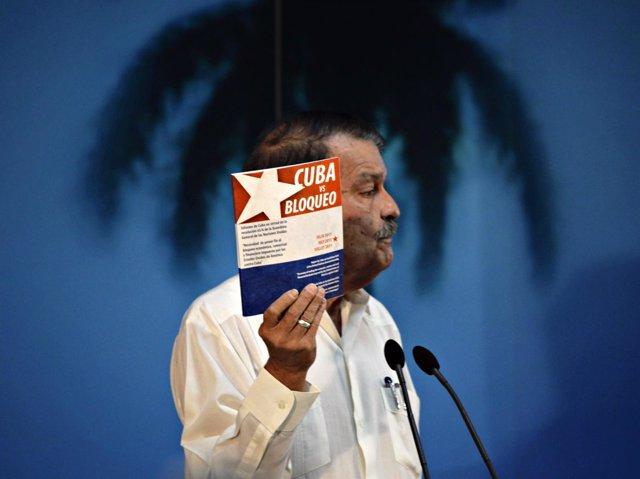 El viceministro de Exteriores de Cuba Abelardo Moreno