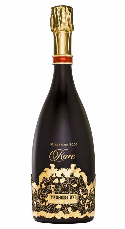 Piper-Heidsieck Rare Millesime 2002, elegido el mejor champán de la década