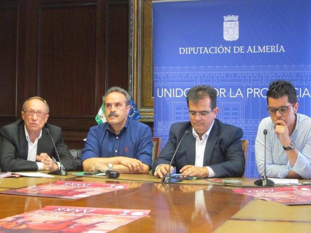 Presentación del XXXV Festival de Música Tradicional de la Alpujarra