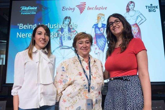 Las hermanas Mayoral, creadoras del proyecto 'Being inclusive'