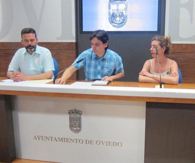 Ignacio Fernández del Páramo, en un momento de la rueda de prensa.