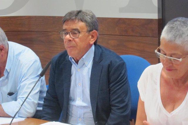 El concejal de Cultura del Ayuntamiento de Oviedo, Roberto Sánchez Ramos (IU).