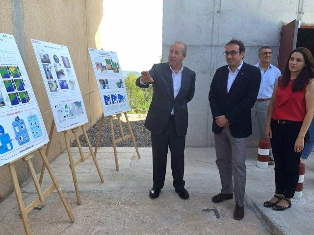 Josep Rull inaugura el nuevo radar de Vallirana