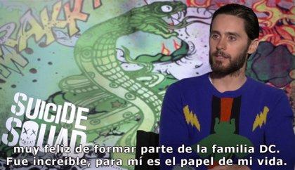 """Jared Leto: """"El Joker de Escuadrón Suicida es el papel de mi vida"""""""