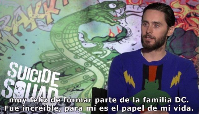 Entrevista con Jared Leto, protagonista de Escuadrón Suicida