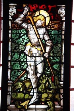 Sant Jordi, En El Palau Maricel De Sitges