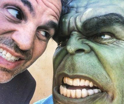 Mark Ruffalo se despide del rodaje de Thor: Ragnarok con un genial álbum de fotos