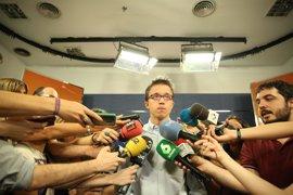 Errejón defiende el acuerdo con En Marea pero rehuye el debate sobre la fórmula jurídica