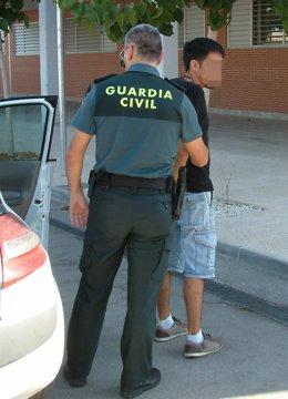 La Guardia Civil Detiene Al Presunto Autor De Una Grave Agresión Al Conductor De