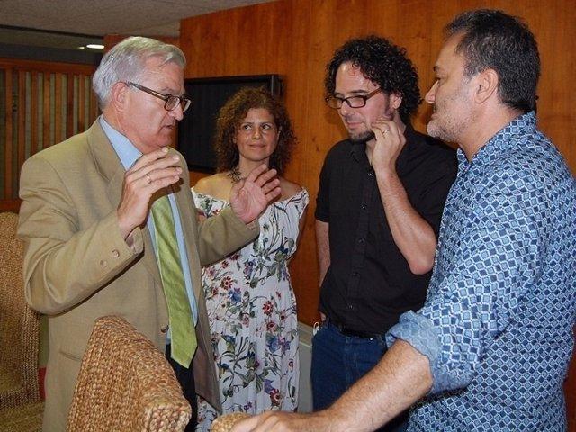 Asencio, Sáez, Simón y Sanguino