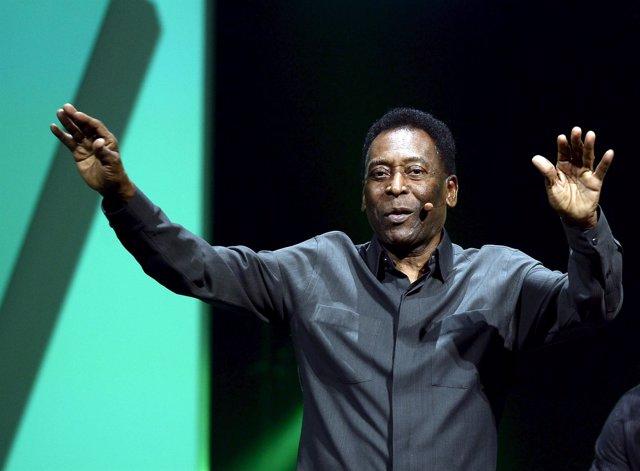 El ex jugador brasileño Pelé