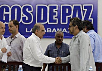 AMPL.- Colombia.- Gobierno y FARC acuerdan los protocolos para la tregua y el desarme
