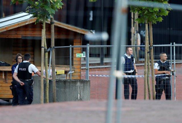 Ataque con machete en Charleroi - Agosto de 2016