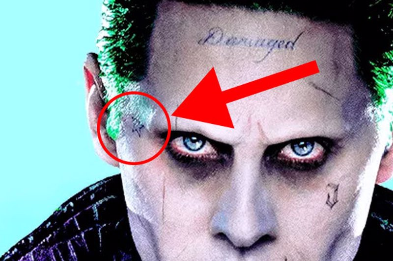 Escuadron Suicida Descifrados Los 16 Tatuajes Del Joker De Jared Leto