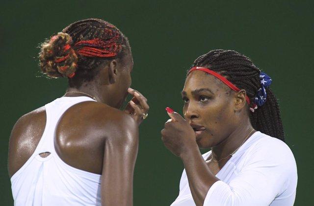 Las hermanas Williams, Venus y Serena, en el torneo olímpico de Río