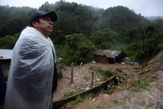 Tormenta Earl a su paso por Veracruz