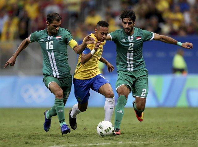 La Brasil de Neymar tampoco puede con Irak