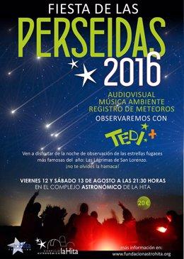 FIESTA DE LAS PERSEIDAS 2016 Noche De Observación En El Complejo Astronomico De